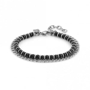 Nomination Instinct Onyx Chain Bracelet