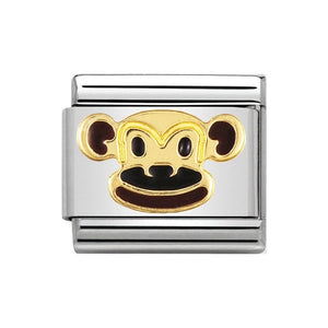 Nomination Monkey Charm