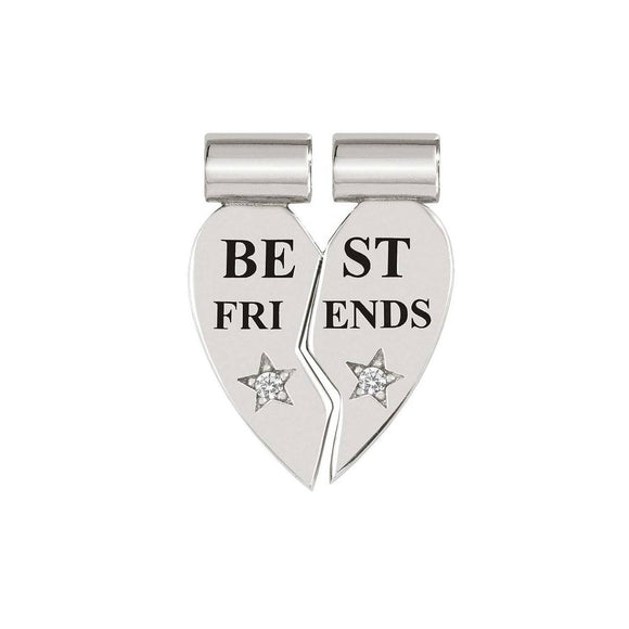 Nomination SeiMia Silver CZ Best Friends Split Charm