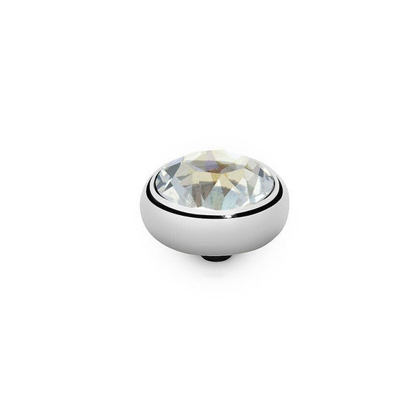 Qudo Silver 10mm Sesto Ring Top In Ignite 666303