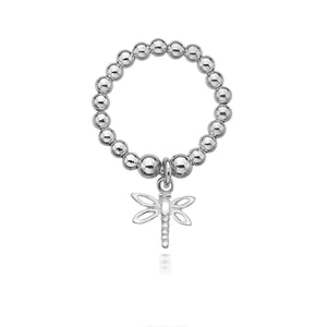 Dollie Silver Lexie Dragonfly Ring