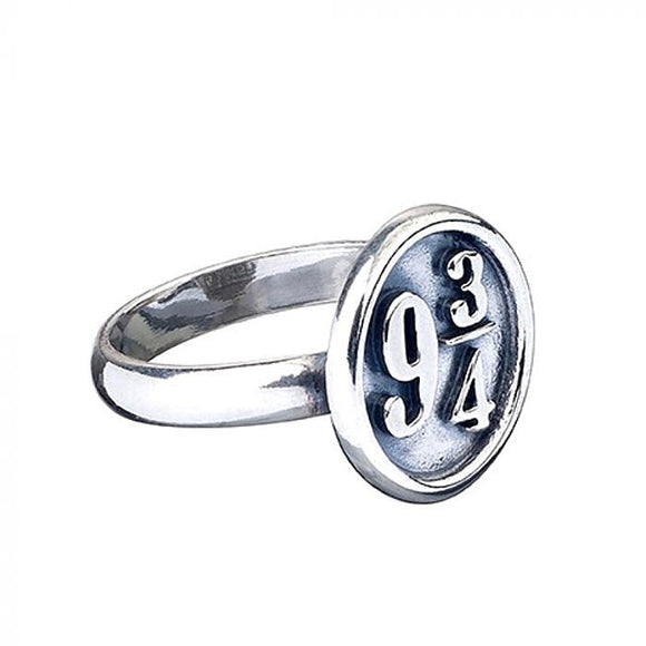 Harry Potter Silver Platform 9 3/4 Ring