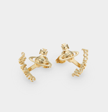 Vivienne Westwood Toni Gold Tone Jacket Earrings