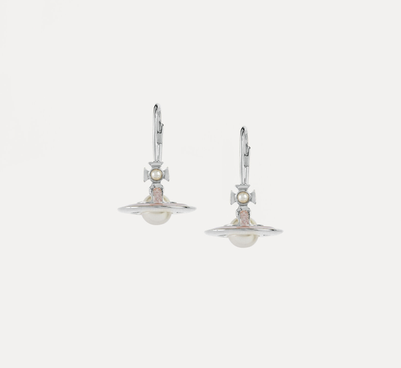 Vivienne Westwood Simonetta Silver Earrings