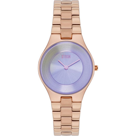 Storm Zelia Violet Rose Gold Watch
