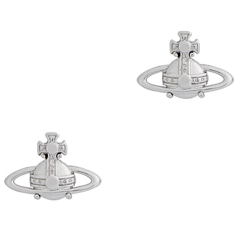 Vivienne Westwood Suzie Silver Tone Earrings