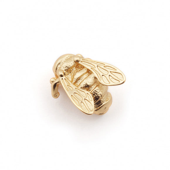 Bill Skinner Gold Plated Bee Pin Brooch