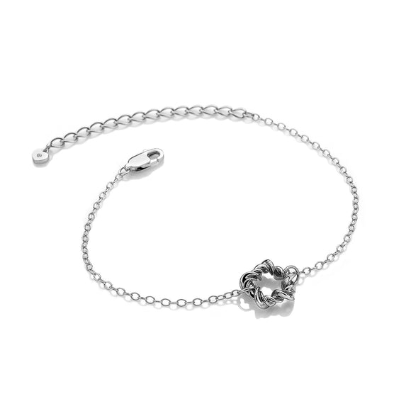 Hot Diamonds Silver Vine Bracelet