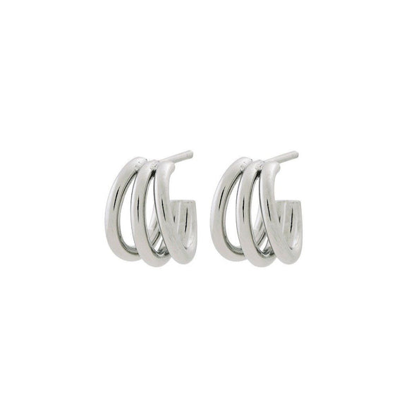 Edblad Echo Earrings Small Steel