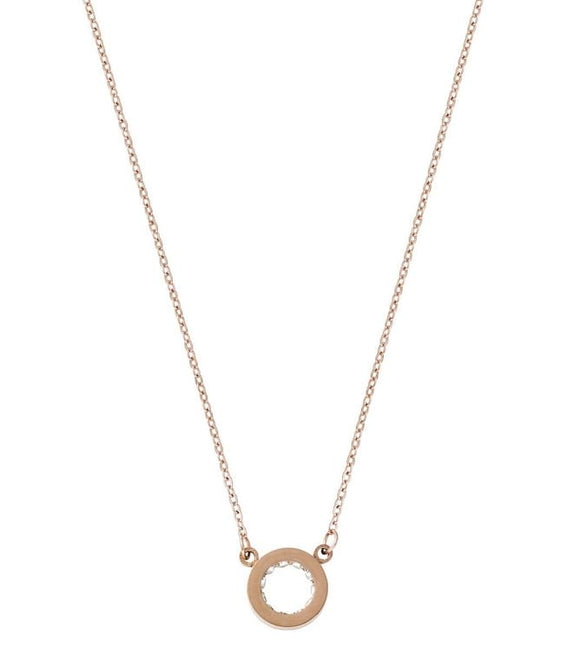 Edblad Monaco Necklace Mini Rose Gold