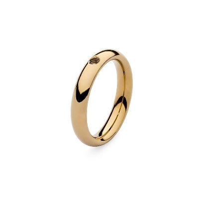 Qudo Slim Ring Gold