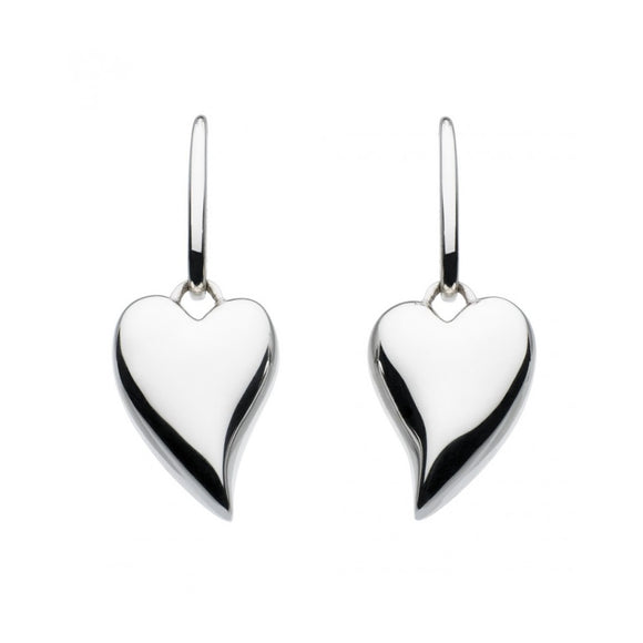 Kit heath silver lust heart drop earrings 60fthp017