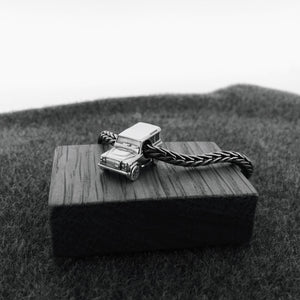 Acorn to Oak Silver Land Rover Defender Inspired Charm -