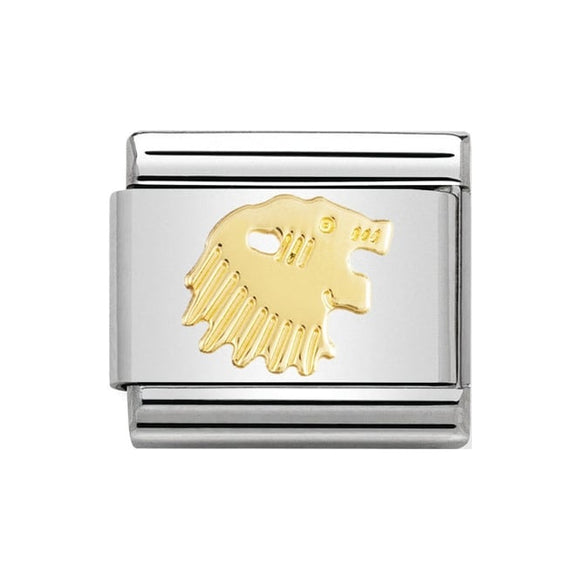 Nomination Gold Leo Charm