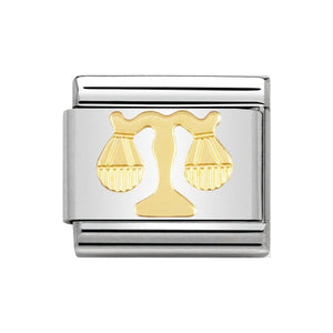 Nomination Gold Libra Charm