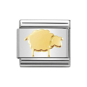 Nomination Gold Sheep Charm