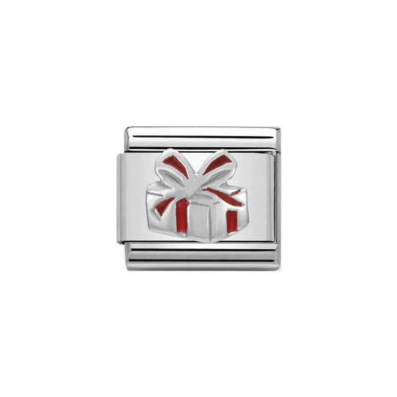 Nomination Silver Gift Box Charm