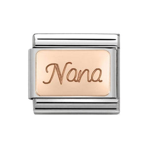 Nomination Rose Gold Nana Charm