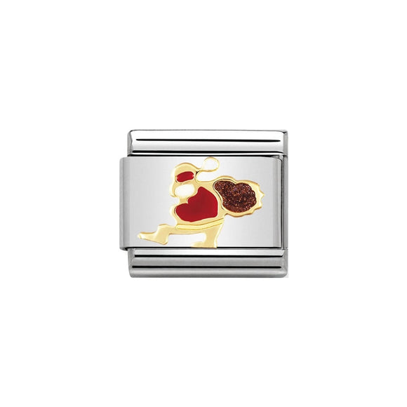 Nomination Gold Santa Claus Charm