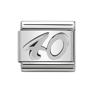 Nomination Silver 40 Charm