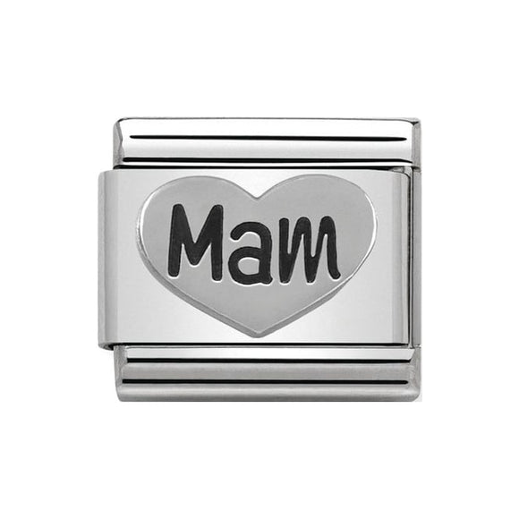 Nomination Silver Mam Heart Charm