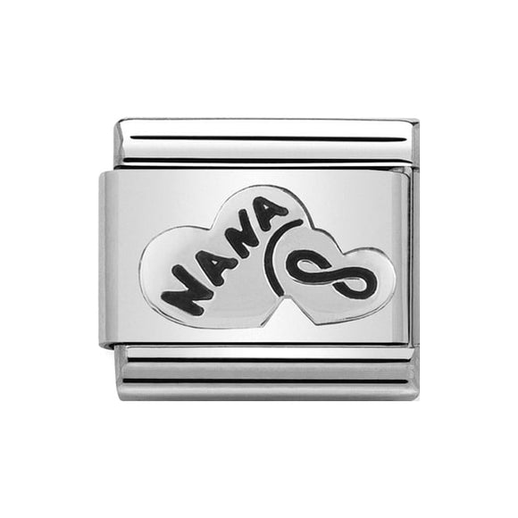 Nomination Silver Nana Heart Charm
