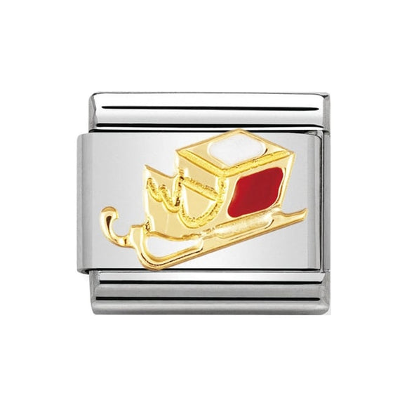 Nomination Gold Sleigh Charm