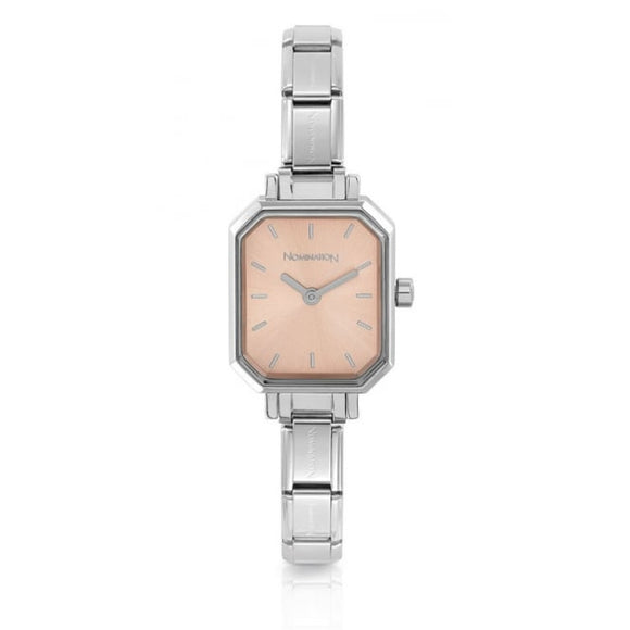 Nomination Classic Paris Watch Rectangular Pink Dial