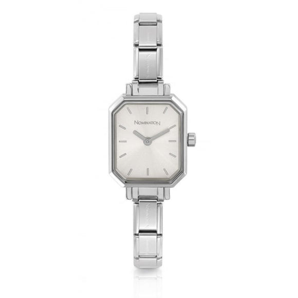 Nomination Classic Paris Watch Rectangular Silver Dial