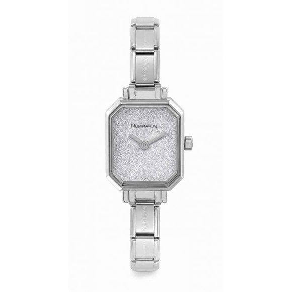 Nomination Classic Paris Watch Rectangular Glitter Dial