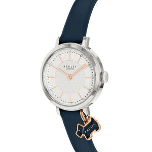 Radley Selby Street Watch With Blue Leather Strap