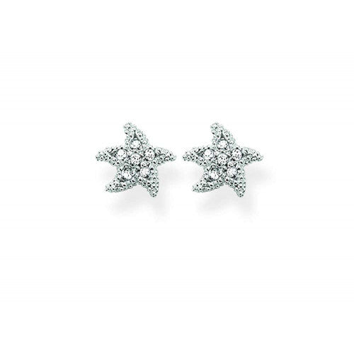Thomas Sabo Silver Starfish Earrings