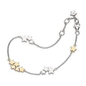 Kit Heath Silver Stargazer Stellar Two Tone Bracelet