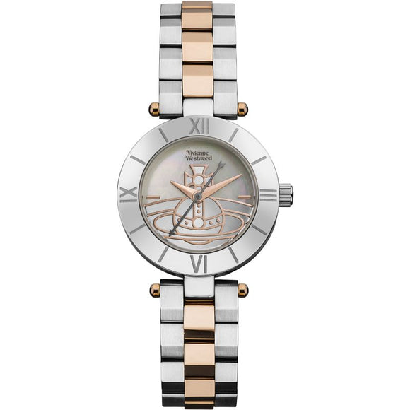 Vivienne Westwood Westbourne Rose Gold Two Tone Watch VV092SLTT