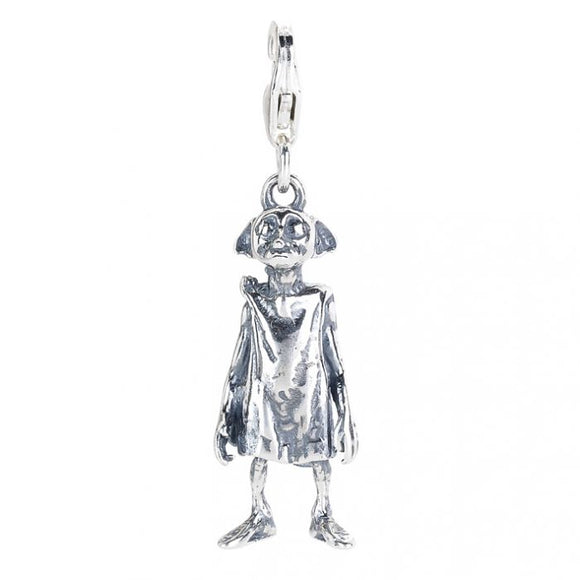 Harry Potter Silver Dobby The House Elf Clip Charm