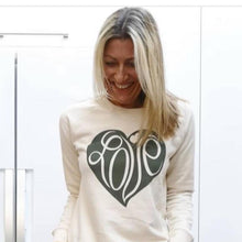 Load image into Gallery viewer, Love heart Sweatshirt NEW