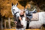 Load image into Gallery viewer, PS of Sweden - Dressage Saddle Pad - Ice Coffee - Sovereign Equestrian