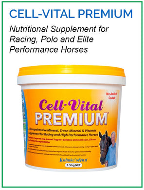 Kohnke's Own Cell Vital Premium - Sovereign Equestrian