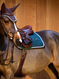 Load image into Gallery viewer, PS of Sweden - Jump Saddle Pad - Emerald Green - Sovereign Equestrian