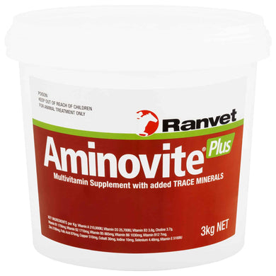 Ranvet Aminovite Plus - Sovereign Equestrian