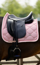 Load image into Gallery viewer, PS of Sweden - Dressage Saddle Pad - Pink Ruffle - Sovereign Equestrian