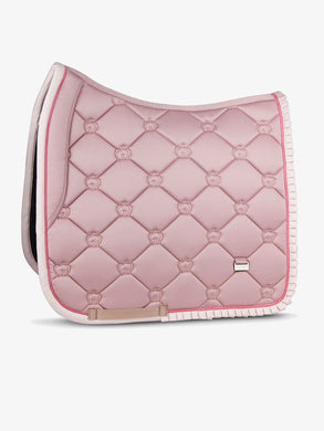 PS of Sweden - Dressage Saddle Pad - Pink Ruffle - Sovereign Equestrian