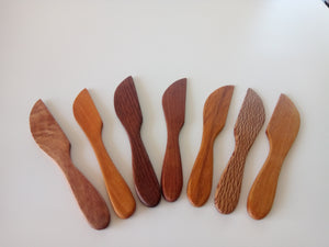 New Zealand native timber knives  (without Paua)