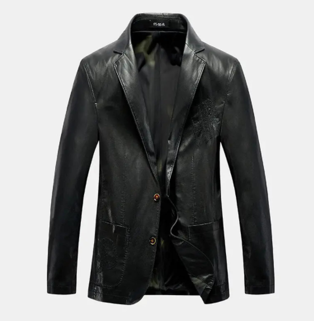 Geniune Leather Jacket Inside Pocket Caual Waring For Men