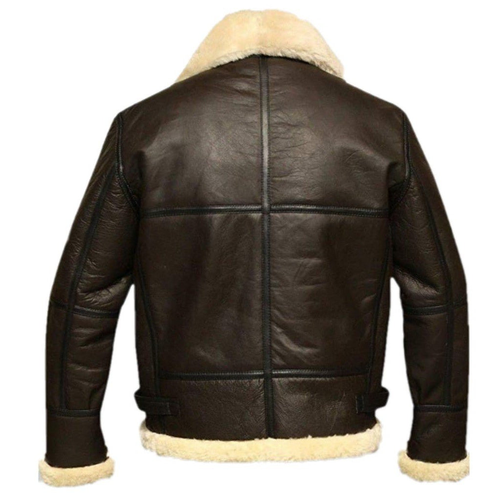 B3 Bomber Jacket | Leather Bomber Jacket Mens