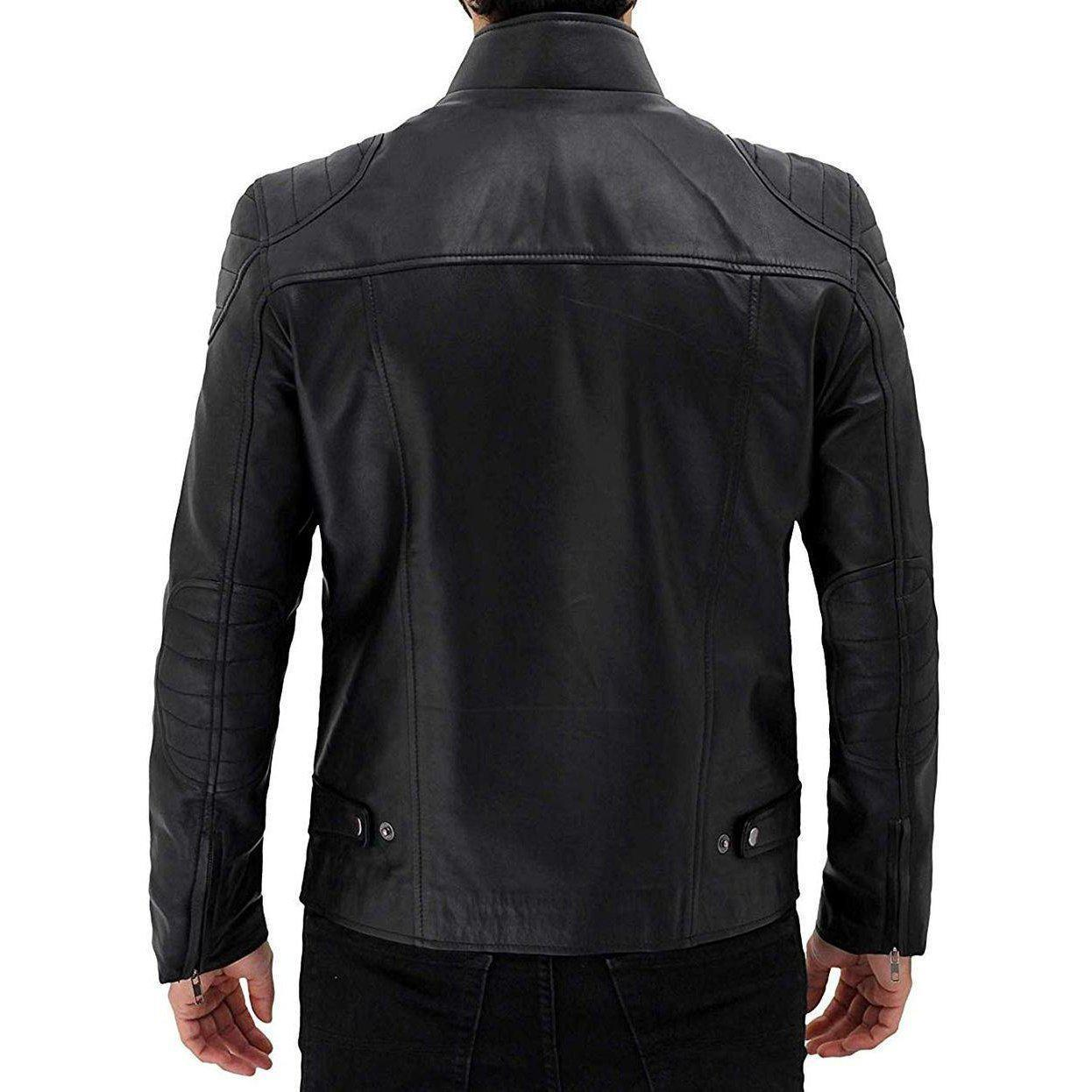 Black Stylish Original Leather Jacket for Men - Leather Jacket