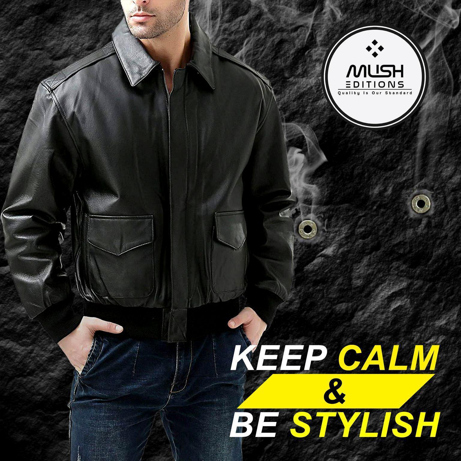 Biker Leather Jacket for Men