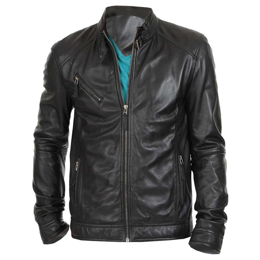 Super Stylo Real Leather Jacket For Men - Leather Jacket Men - Leather Jacket