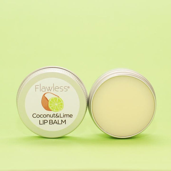 Coconut & Lime Lip Balm by Flawless