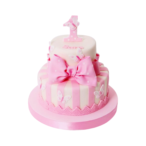 Princess 2 Tier Cake